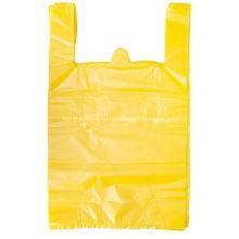 Большие белые пластиковые сумки для футболок