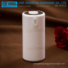 ZB-PU50 50ml thick acrylic material press lotion pump beautiful round acrylic cosmetic airless bottle