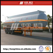 Camión cisterna Q345chemical del acero de carbono 42500L (HZZ9405GHY) con el alto rendimiento para los compradores