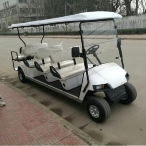 Cina Fornitura Di Una Nuova Golf Car A Benzina A 8 Posti Da