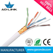 Red CCA / CCU / CCA FTP Cable 24AWG Cat5e