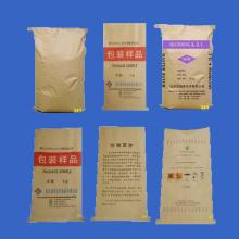 Saco de papel-plástico 55 * 85 / três sacos compostos
