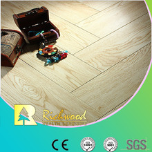 Household E0 12.3mm Eir Oak Waxed Edged Laminated Flooring