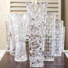 K9 vaso de flor de cristal, vaso de cristal