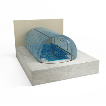 Couverture de piscine automatique Typefor Inground Price Pvc