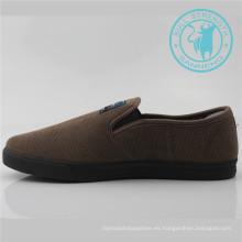 Zapatos de lona Zapatos de lona de calzado de ocio para hombres (SNC-011350)