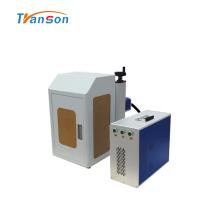 Mini máquina de marcado de fibra cerrada de 20 vatios con cubierta
