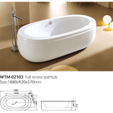 Overflow Bathtub Freestanding Bathtub Wtm-02103