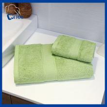BSCI zugelassener Hersteller Baumwollhandtuch (QHD99802)
