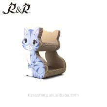 Reciclado en fábrica Scratcher en forma de cartón corrugado Cat Lounge CS-6002