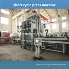 Ligne de pressage à chaud semi-automatique et automatique