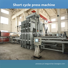 Linha de pressão quente laminada semi-automática e automática