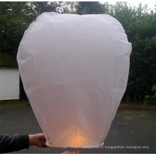 lanterne chinoise traditionnelle en papier avec papier ignifuge et ignifuge