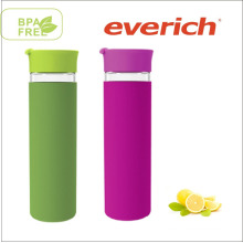 New Stylish Top Level Quality Environmental Borosilicate Empty Glass Bottles