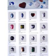 Цветные кристаллы без бусин (DZ30 **)