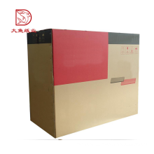 Buena calidad hecha en caja de cartón corrugado desechable de nuevo diseño de China