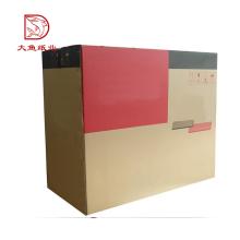 Boa qualidade made in China novo design descartável caixa de papelão ondulado
