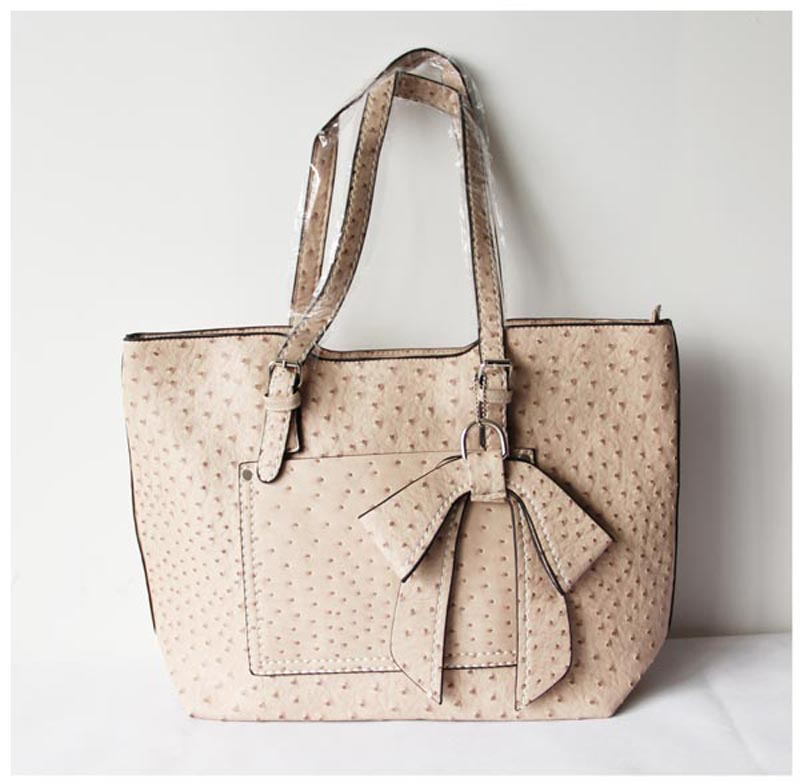 Ivory Leather Totes For Women