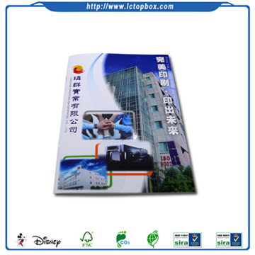 Custom Advertising Full Color Printed booklet