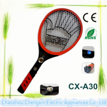 High Quality ABS Electronic Mosquito Killer Bat with LED Light