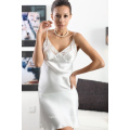 Pure Silk Chemise with Lace, Silk Apparel, Silk Garment, Top, Blouse, Ladies Skirt