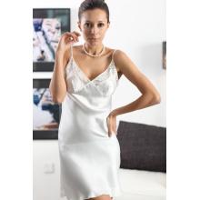 Pure Silk Chemise mit Spitze, Seidenkleid, Seidenkleid, Top, Bluse, Damenrock