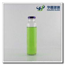 300ml Round Beverage Glass Bottle with Screw Tin Lid