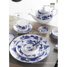 A008 luxury porcelain exclusive chinese style dinnerware