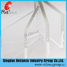 Vidro Ultra Transparente / Transparente de 3,2mm com Certificados Ce / ISO