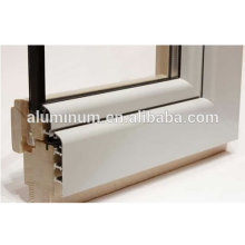 china top Wooden Aluminium powde coating Profile