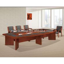 Mesa de reunião de venda a quente, mesa de conferenc mesa mobiliário de escritório, mesa de reunião de escritório moderna (T03)