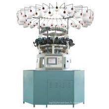 Machine à tricoter circulaire Jacquard informatisée pour la fourrure artificielle en peluche