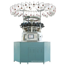 Computerized Jacquard Circular Knitting Machine for Plush Artificial Fur