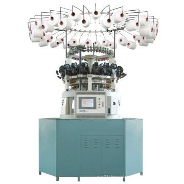 Máquina de hacer punto circular computarizada del Jacquard para la piel artificial de la felpa