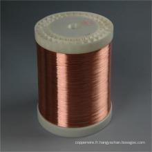Fil en aluminium plaqué de cuivre de câble électrique pour le câble d'ordinateur