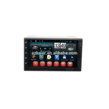 OBD! Android 4.4 full touch screen car dvd for universal +dual core +OEM+Glanoss+TPMS+OBD