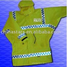 100% Polyester hohe Sichtbarkeit reflektierende Sicherheitsjacke
