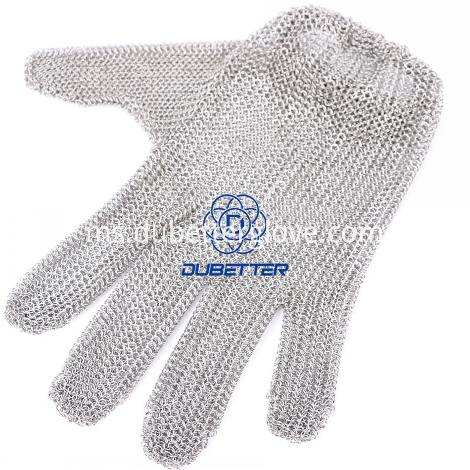 Dubetter steel mesh gloves12