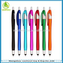 Superior Popular promocional pluma alta calidad Stylus Pen/modificado para requisitos particulares Logo lápiz lápiz táctil