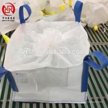Duffle top 1 ton super sack big bag , cargo sling bag for calcium carbonate powder