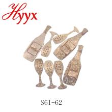 Confeti al por mayor HYYX / forma de confeti personalizado / precio de confeti