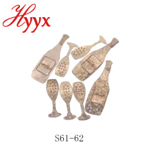 HYYX en gros confettis / personnalisé confetti forme / confetti prix