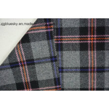 Tecido de lã xadrez com 4 cores
