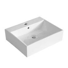 hot sale new design rectangular thin ceramic wash basin with good price