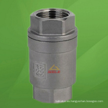 Válvula de retención vertical 2PC (GAH12W)