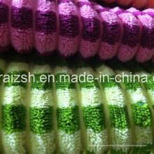 Tissu 100% coton en velours côtelé pour housse de coussin