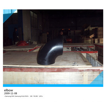 90 Degree Carbon Steel Pipe Long Elbow