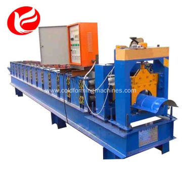 Online Manufacturer for Roof Ridge Cap Roll Forming Machine Color steel ridge cap metal roof tile roll forming machine supply to Slovenia Factory