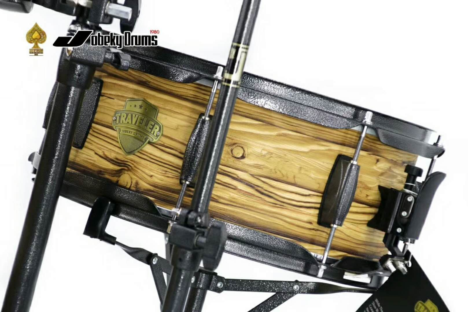 Birch Wood Drum Set