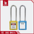 Best Price OEM ABS Insulation Steel Nylon Long Shackle BD-G21 with76mm Safety Padlock&Tagout KD
